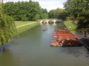 Cruising into Cambridge